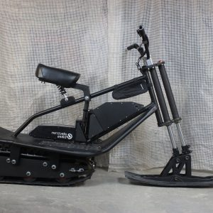 Electric snowbike_black_11
