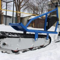 Electric snowbike_blue_2