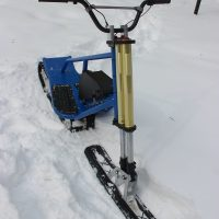 Electric snowbike_blue_6