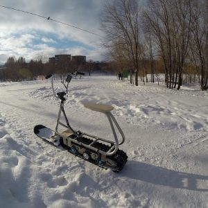 Electric snowbike_s22_seat_1
