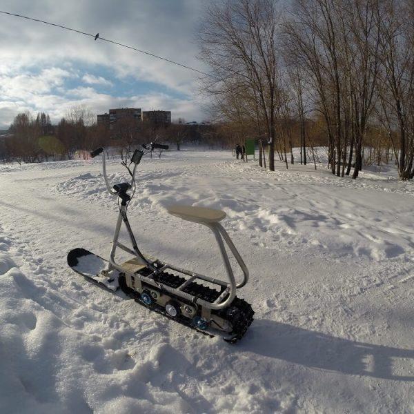 Electric snowbike_s22_seat_1