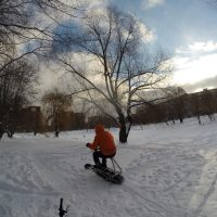 Electric snowbike_s22_seat_2