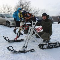 Electric snowbike_white_1