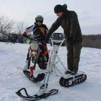 Electric snowbike_white_2