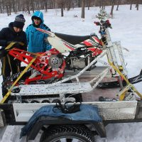 Electric snowbike_white_3