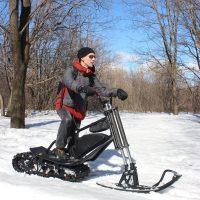 Electrik snowbike_black_2