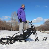 Electrik snowbike_black_3