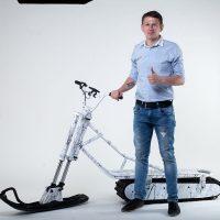 Electrik snowbike_white_6