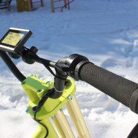 electric snowbike yellow_13
