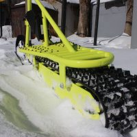 electric snowbike yellow_3