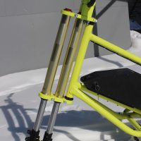 electric snowbike yellow_9