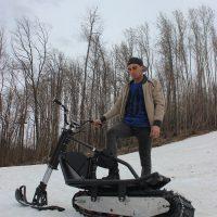 electric snowbike_black_7