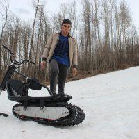 electric snowbike_black_8
