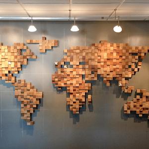 Карта мира на стену_1