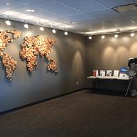 Карта мира на стену_2