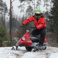Электро снегоход Рыбинка_6