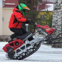 Электро снегоход Рыбинка_7