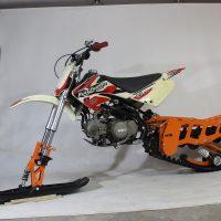 Гусеница на мотоцикл_гусеничный комплект_снегоходный комплект для мото_13