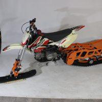 Гусеница на мотоцикл_гусеничный комплект_снегоходный комплект для мото_14