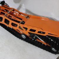 Гусеница на мотоцикл_гусеничный комплект_снегоходный комплект для мото_5