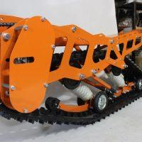 Гусеница на мотоцикл_гусеничный комплект_снегоходный комплект для мото_6