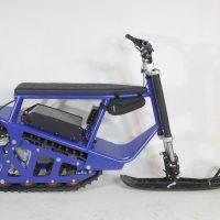 Электро снегоход_electric snowscooter_3Kw_1