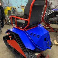 Коммунальный мини трактор 2_7