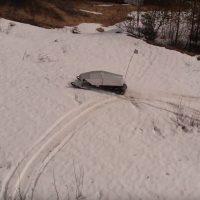 Беспилотный снегоход_3