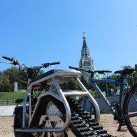Гусеничный электро вездеход_sandbike_22