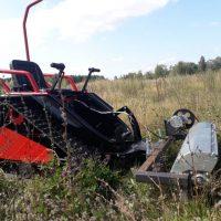 Мини трактор косилка_1
