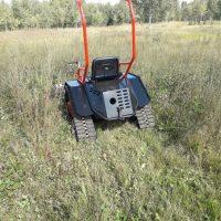Мини трактор косилка_10