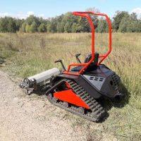 Мини трактор косилка_2