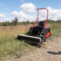 Мини трактор косилка_3