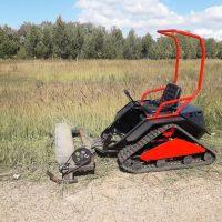 Мини трактор косилка_4