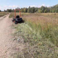 Мини трактор косилка_7