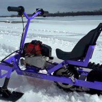 Детский снегоход_мотоснегокат_3