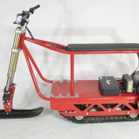 Electric snowmobile_electric snowbike_электро снегоход_1