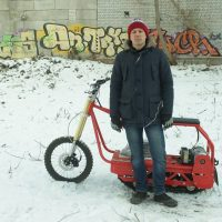 Electric snowmobile_electric snowbike_электро снегоход_11