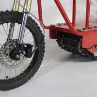 Электрический вездеход_сноубайк_electric atv_tracked vehicle_snowbike_6