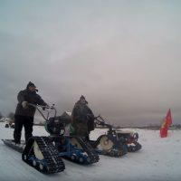 гусеничная приставка для мотоблока_снегоходная приставка_14