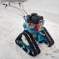 гусеничная приставка для мотоблока_снегоходная приставка_8