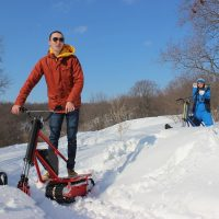 electric snowbike_red_9