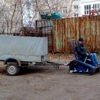 Мини трактор вездеход_4