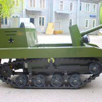 электро танк для пейнтбола и лазертега_3