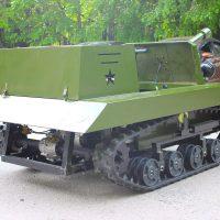 электро танк для пейнтбола и лазертега_4