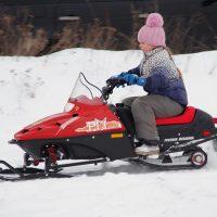 Детский электро снегоход_14