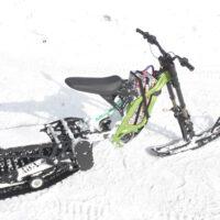 Surron snowbike_electric snowbike_sur ron snowbike kit_гусеница на суррон_surron гусеничный комплект_4