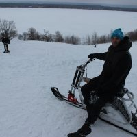 Электро снегоход 3 кВт_5