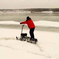 Снегоход снегокат Васюган Русак_3