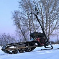 Снегоход снегокат Васюган Русак_4